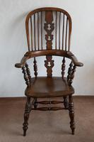 Magnificent Broad Arm Windsor Chair in Ash (5 of 5)