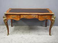 Large French Walnut Bureau Plat / Writing Table (9 of 16)