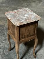 Pair of French Marble Top Bedside Cupboards (13 of 26)