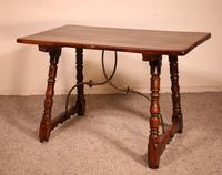 Spanish Table from the 16th Century in Walnut (5 of 13)