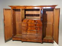 A Handsome Mid 19th Century Breakfront Wardrobe (2 of 3)