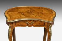Pair of Late 19th Century Kidney Shaped Occasional Tables (3 of 8)