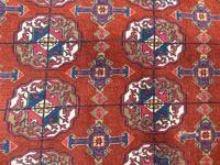 Good Tekke Turkman Carpet c.1930 (7 of 8)