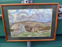 Irish School Late 19th / Early 20th Century Oil on Canvas - Rural Scene