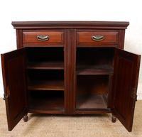 Dresser Base Walnut Edwardian Sideboard Cabinet (6 of 12)
