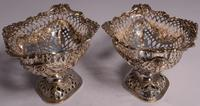 Beautiful Set of Three Matching Victorian Silver Dishes by Charles Stuart Harris, London 1899 & 1900 (12 of 13)
