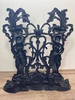 Art Nouveau Style Black Heavy Cast Iron French Nubile Umbrella Stand Corneau Alfred A Charlesville No 27 (39 of 41)