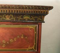 Georgian Mahogany Polychrome Painted Chest on Chest (9 of 12)