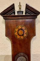 Mahogany Inlaid Wheel Baromoeter (2 of 5)