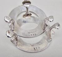 Delightful Pair of Victorian Silver Plated Stands with Glass Salts by John Grinsell & Sons c.1890 (3 of 10)