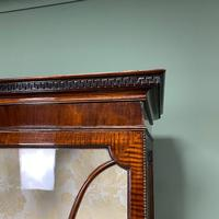 Spectacular Edwardian Chippendale Design Antique Display Cabinet (3 of 9)