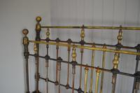 Victorian Brass & Iron King Size 5ft Antique Bed Frame - Fully Restored in Your Choice of Colour (8 of 15)