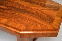 1920's Art Deco Figured Walnut Dining Table (8 of 10)