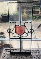 Antique Stained Glass Panel (7 of 12)
