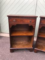 Pair of Mahogany Bedside Cabinets (2 of 8)