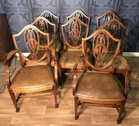 Quality Set of Eight Mahogany Dining Chairs (11 of 18)