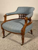 Scottish Armchair In Mahogany Called Tub Chair 19th Century (2 of 7)