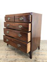 Antique 19th Century Mahogany Chest of Drawers (7 of 14)