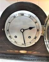 1931 English 'Napoleon Hat' striking Mantle Clock by Empire. (2 of 7)