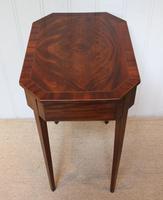 Regency Mahogany Work Table c.1820 (3 of 10)