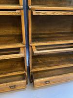 Pair of Globe Wernicke Oak Bookcases (6 of 16)