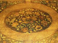 Good Dutch Marquetry Walnut & Kingwood Inlaid Table (11 of 11)