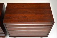 Pair of Danish Vintage Rosewood Chest of Drawers by Poul Cadovius (9 of 13)