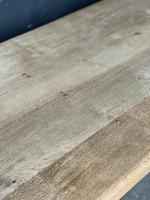 French Bleached Oak Farmhouse Kitchen Table (8 of 25)