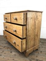 Victorian Pine Chest of Drawers (8 of 10)