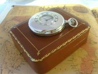 Vintage Pocket Watch 1970s Bravingtons Swiss 17 Jewel Half Hunter & Box Fwo (5 of 12)