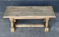 French Bleached Oak Coffee Table (2 of 11)