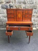 Antique Inlaid Satinwood Ladies Writing Desk (8 of 15)