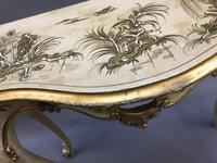 Italianate Lacquered Console Table (5 of 10)