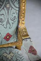 Pair of Gold French Louis XVI Style Armchairs (8 of 12)