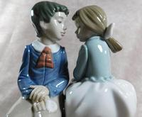 """Primer Amor"" or ""First Love"" Hand Modelled Porcelain Figure by Nao (6 of 9)"
