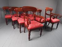 Set of 12 Scottish Mahogany Dining Chairs (5 of 18)
