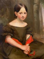 Large & Striking Oil on Canvas in Original Frame by John G. Medland (2 of 3)