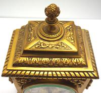 Fine Antique French 8-day Striking Mantel Clock - Sought Solid Bronze Ormolu Case (11 of 11)