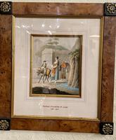 Thomas Staunton St. Clair Fine Pair of Walnut Framed Watercolours (4 of 4)
