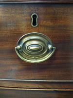 Victorian Bow Fronted Chest of Drawers (4 of 4)