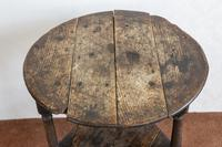 Late 17th or Early 18th Century Cricket Table in Unrestored Condition (3 of 7)