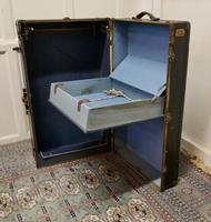 American Fitted Steamer Trunk or Cabin Wardrobe by Luxor (6 of 8)