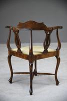 Edwardian Corner Chair (10 of 13)