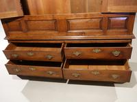 Outstanding Mid 18th Century Oak Livery or Housekeepers Cupboard (5 of 5)