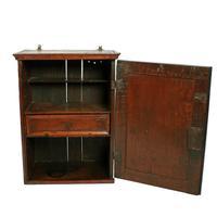 18th Century Oak Spice Cabinet (3 of 6)