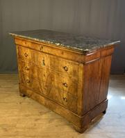 Large Louis Philippe Walnut Commode (9 of 12)