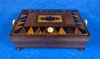 Georgian Kingwood & Tunbridge Ware Table Box (13 of 14)