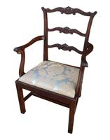 Pair of Mahogany Childrens Chairs Chippendale Style c.1910 (3 of 3)