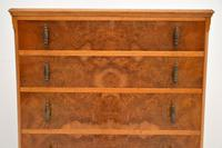 Antique Burr Walnut  Chest of Drawers (9 of 10)
