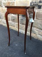 Antique Rosewood & Brass Bijouterie Display Table (7 of 10)